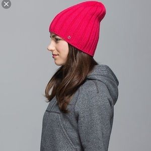 Lululemon • Blissed Out Beanie Wool Hat